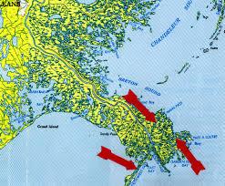 map us landforms identifying coastal landforms on maps