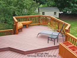 decking ideas for gardens exterior design wonderful trex decking cost for exterior design