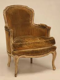 French Louis Bedroom Furniture by Home Decoration Style Giltwood Fauteuil Wing Chair At Stdibs