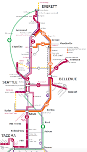 Seattle Sounder Train Map by You U0027ve Got 50 Billion For Transit Now How Should You Spend It