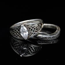 celtic wedding ring sets 95 best norse celtic wedding ring images on celtic