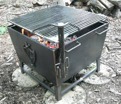 Cooking Fire Pit Designs - open pit grill designs outdoor fire pit designs brick fire pit