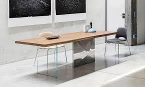 tavoli design cristallo design cubric di riflessi