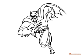 super heroes coloring pages easy to use download and print for free