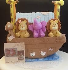 gateau anniversaire animaux arche de noé arche de gâteau de noé arche figurine noahs ark