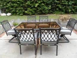 Patio Table 6 Chairs Barnsdale Teak 7 Piece Patio Dining Set