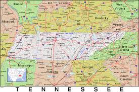 State Map Of Tennessee by Tn Tennessee Public Domain Maps By Pat The Free Open Source