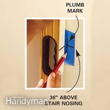install a new stair handrail family handyman