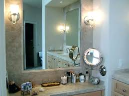wall mounted makeup mirror with lighted battery battery operated wall mounted lighted makeup mirror battery operated