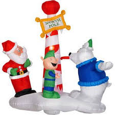 Inflatable Christmas Decorations Outdoor Cheap - walmart outdoor christmas decorations interesting walmart outdoor