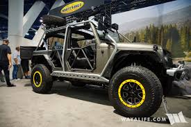 Smittybuilt Roof Rack by 2017 Sema Smittybilt Apollo Jeep Jk Wrangler Unlimited