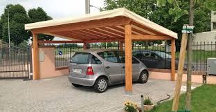 tettoia legno auto tettoie per auto legno costruire con pensiline per auto in legno e