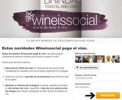 consejos para ganar el sorteo de wineissocial privalia blog