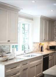 crown moulding on kitchen cabinets how to install crown molding on cabinet crown molding above in