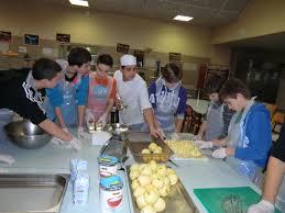 cours de cuisine enfant lyon internat garçons les chassagnes