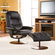 Swivel Recliner Chairs by Ottomans Ren Reclining Chair And Ottoman Swivel Recliner Swivel