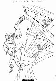tangled printable coloring pages coloring
