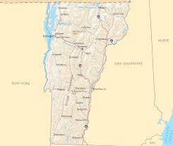 Vermont County Map Where Is Vermont Located U2022 Mapsof Net