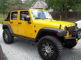 yellow jeep wrangler unlimited have a yellow jeep wrangler join the club on facebook