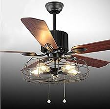 Retro Ceiling Fans by Luxurefan Retro Ceiling Fan Lamp For Restaurant Living Room With