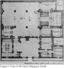 All Saints Church Floor Plans by William Butterfield All Saints Margaret