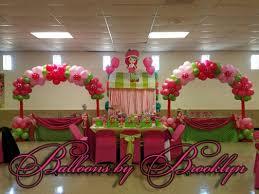 strawberry shortcake balloon decor balloons by brooklyn pinterest