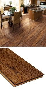 Cheap Underlayment For Laminate Flooring Hampton Bay Hand Scraped Oak Burnt Caramel 8 Mm Thick X 5 1 2 In