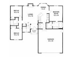 House Plans 1200 Square Feet 14 House Plan 041 One Story Plans Under 2000 Square Feet Shining