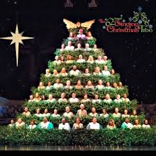 the 62nd annual singing christmas tree the singing christmas