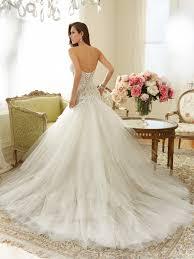 corset wedding dress a line wedding dress with corset back