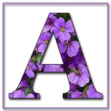 22 best letras con flores images on pinterest alphabet letters