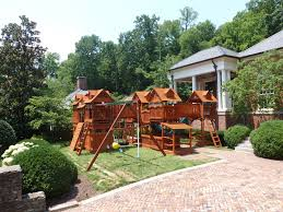 swingsets u0026 playsets by backyard adventures of middle tennessee