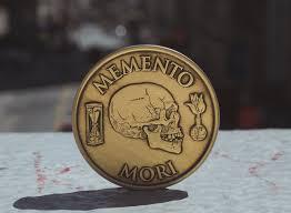 Memento Mori - daily stoic the memento mori medallion daily stoic store