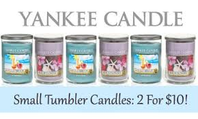 yankee candle sale small tumbler candles 2 for 10 southern