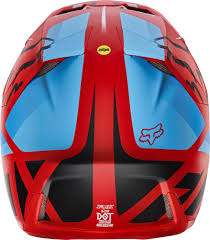 fox news flip flops fox v3 seca mx helmet helmets motocross red