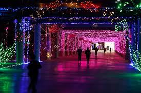 Holiday Brilliant Spectacular Light Show by Glittering Lights At Las Vegas Motor Speedway