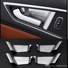 ford edge accessories 2017 car abs interior door handle covers accessories for ford edge