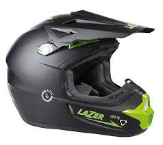 green motocross helmet lazer x7 x line black green matt helmet