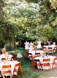 Small Backyard Reception Ideas Real Backyard Wedding Wedding Reception Photos On Weddingwire