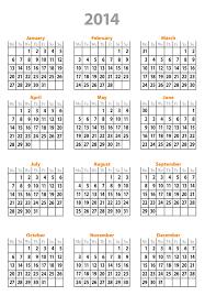 free 2014 calendar template great printable calendars