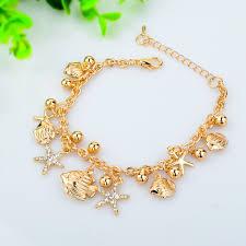 european bracelet chain images 2017 crystal fancy star chain link trendy bracelets for women jpg