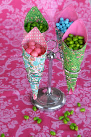 Favor Cones by Coordinated Wedding Favors Sew Sew
