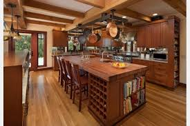 Kitchen Island Country Gorgeous Country Kitchen Makeovers With Rectangle Solid