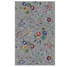 Floral Area Rug Buy Floral Area Rugs From Bed Bath U0026 Beyond