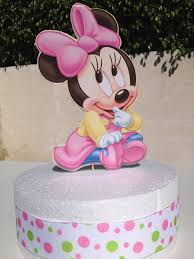 minnie mouse baby shower cake topper archives baby shower diy