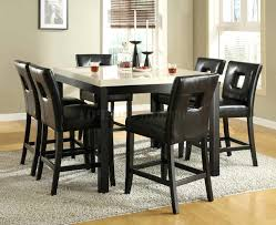 cheap dining room tables l shaped black leather benches and dining