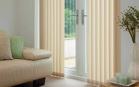 Fabric Blinds For Sliding Doors Living Room Extraordinary Modern Living Room Decoration With