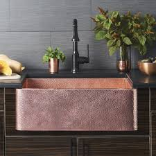 Kitchen Kitchen Sink Protector Hammered Copper Apron Sink Kraus by Reviews Farmhouse Kitchen Sink U2014 Farmhouse Design And Furniture