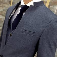 unique mens online shop unique mens mandarin collar suit black collar