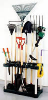 Garage Tool Organizer Rack - plano long handle yard u0026 garden garage tool organizer storage
